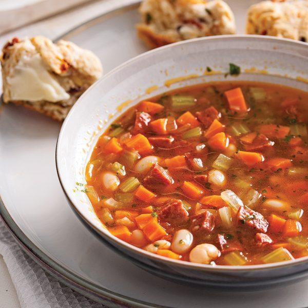 Soupe aux légumes à la portugaise
