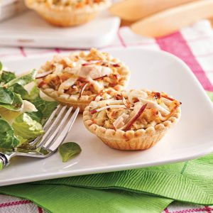 Tartelettes thon et pommes