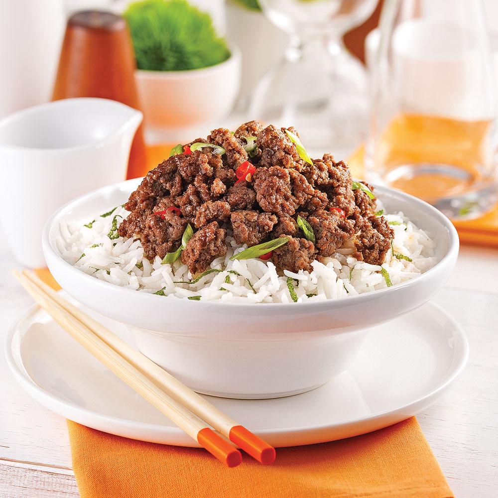 Bœuf à la coréenne