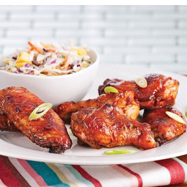 Ailes de poulet, sauce aigre-douce