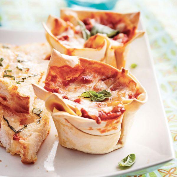 Coupelles de lasagne