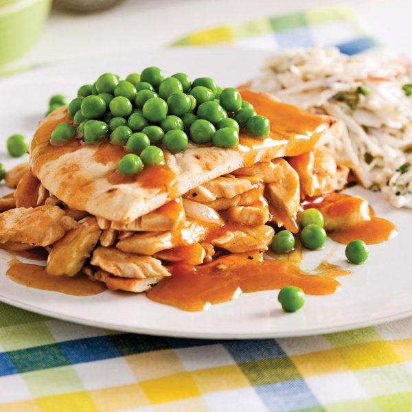 Hot chicken, sauce barbecue au paprika fumé