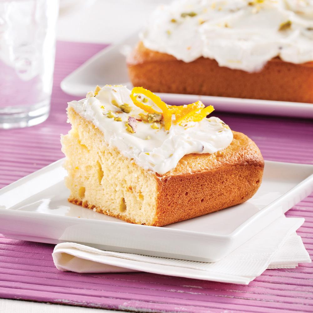 Gâteau au yogourt et à l'érable