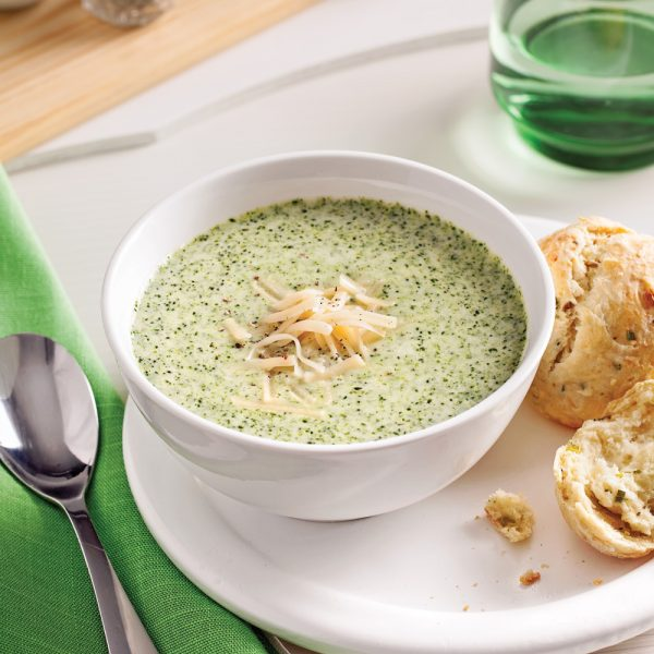Soupe fromage et brocoli