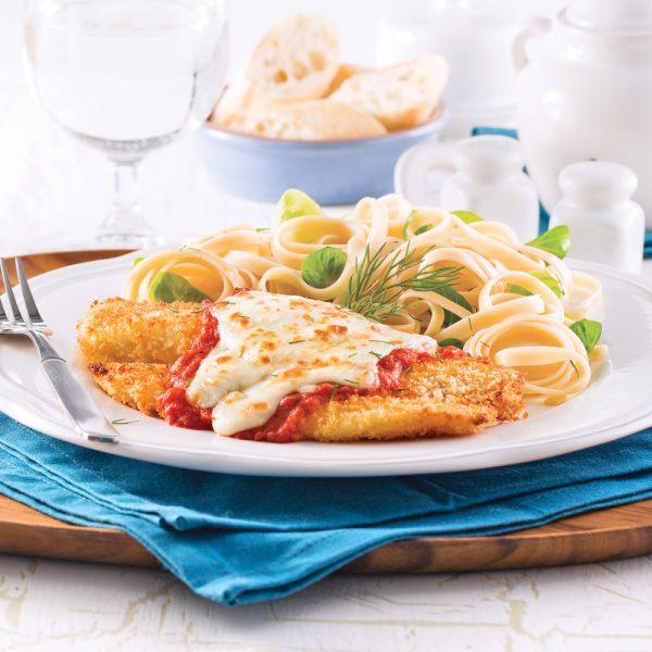 Tilapia parmigiana
