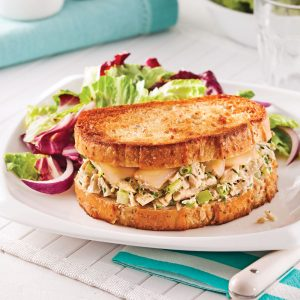 Sandwich fondant au thon