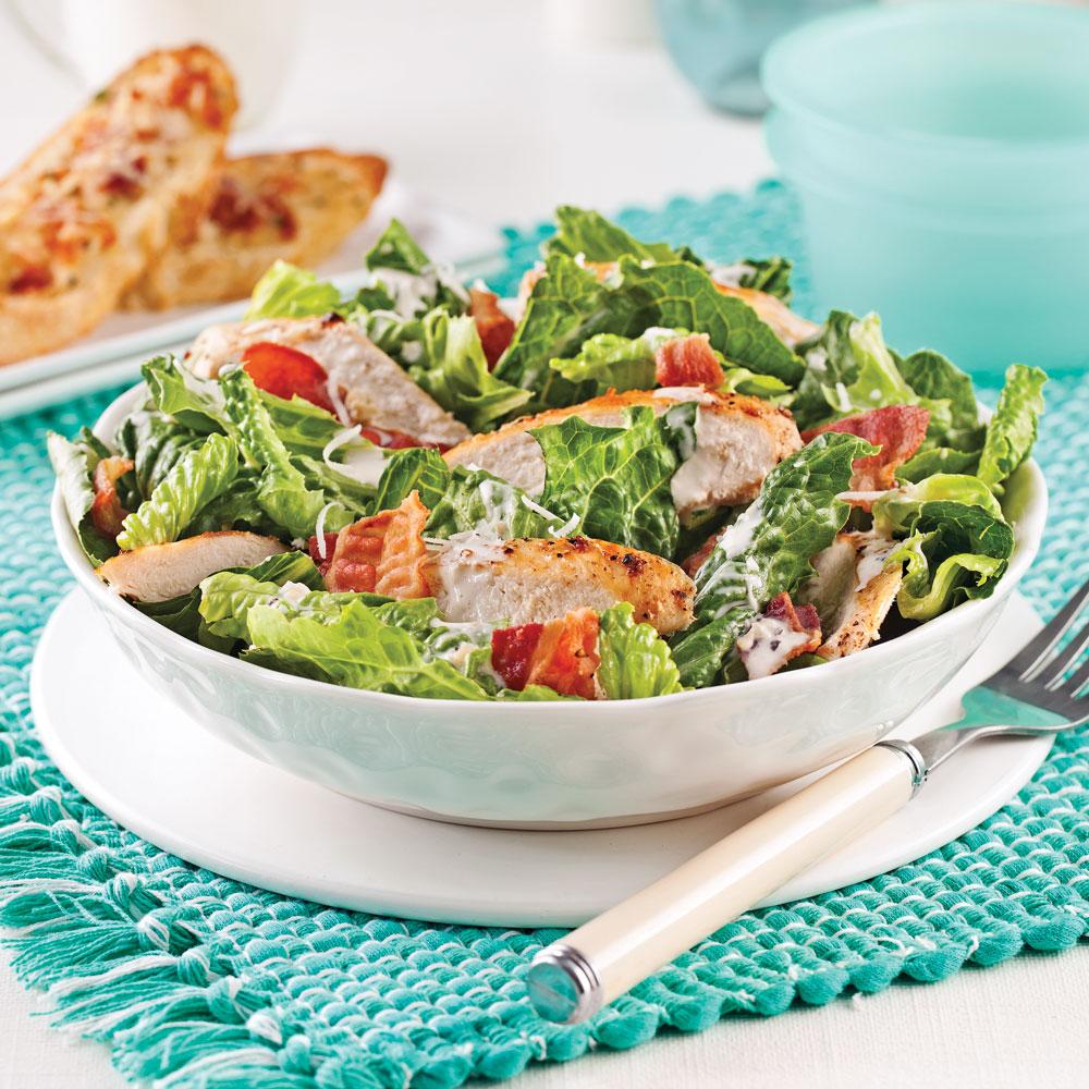Salade César au poulet