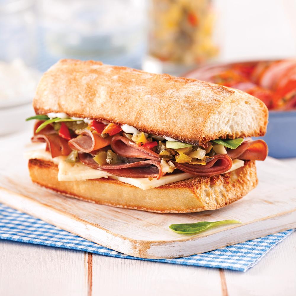 Sandwich au rosbif