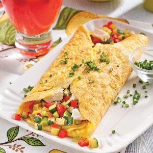 Omelette du jardin