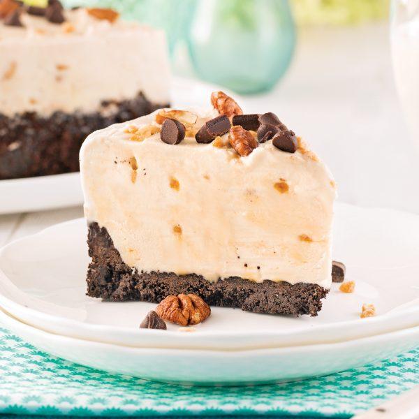Gâteau à la crème glacée à l'érable