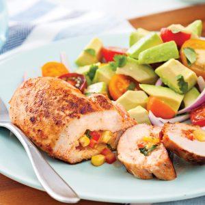 Poitrines de poulet à la mexicaine