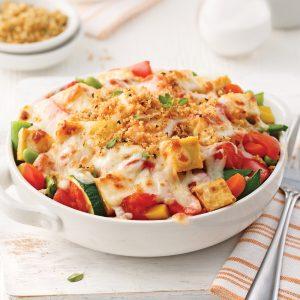 Casserole de légumes et tofu