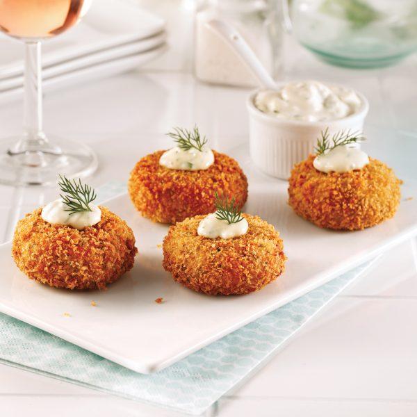 Mini-crab cakes