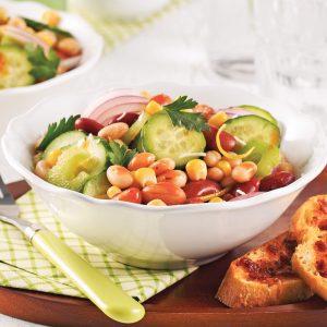 Salade de légumineuses à l'italienne