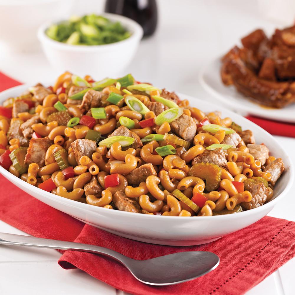 Macaroni chinois au porc