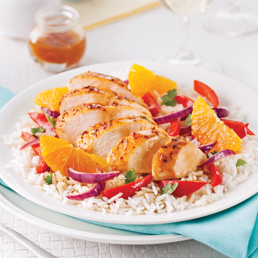 Orange, Ginger Chicken