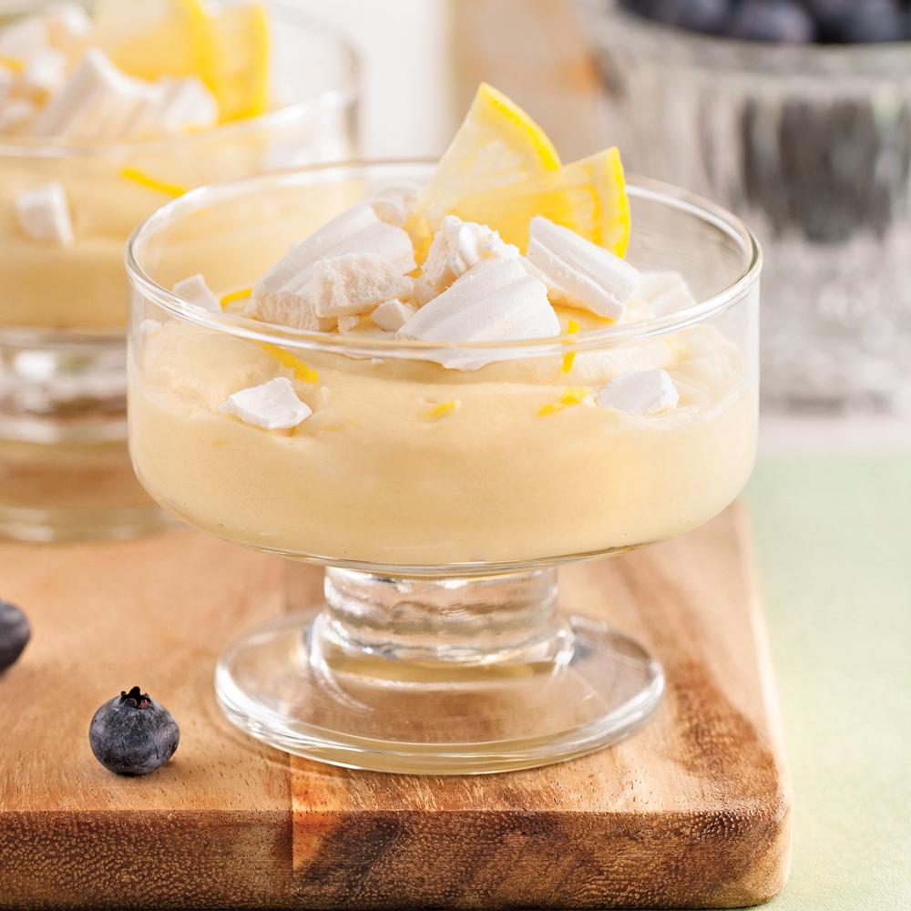 Crème au citron et meringue