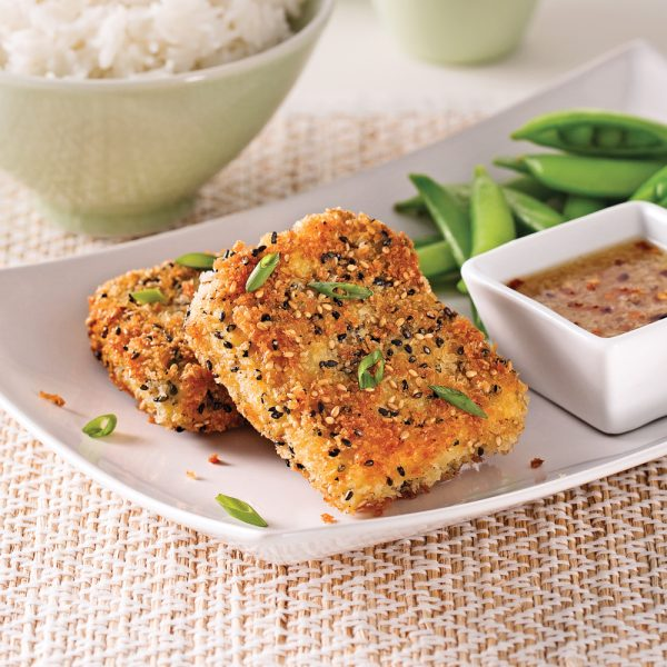 Croustillants de tofu au sésame