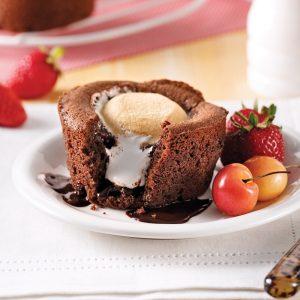 Petits gâteaux au chocolat et guimauve