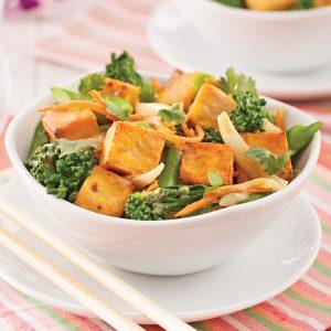 Sauté au tofu