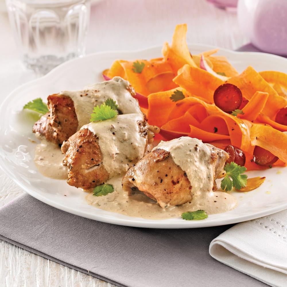 Hauts de cuisses de poulet tandoori