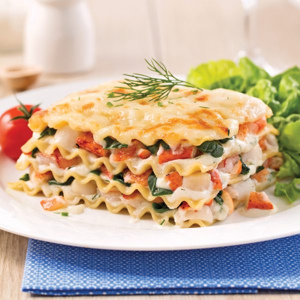 Lasagne aux fruits de mer version mijoteuse