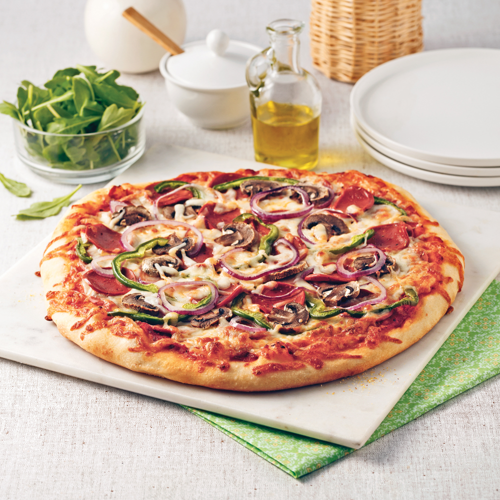 Pizza végé toute garnie