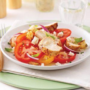 Salade italienne au poulet grillé