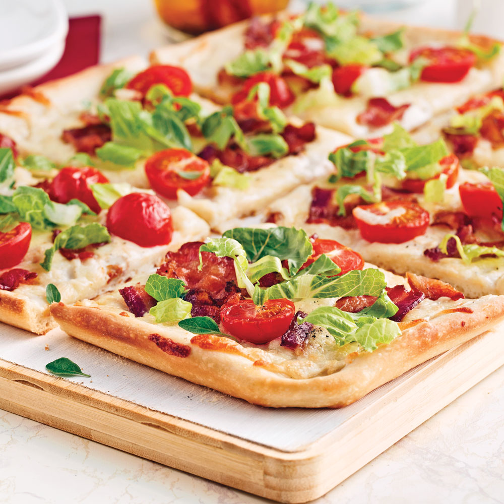 Pizza BLT