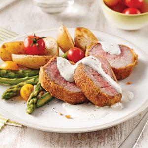 Filet de porc en croûte de panko