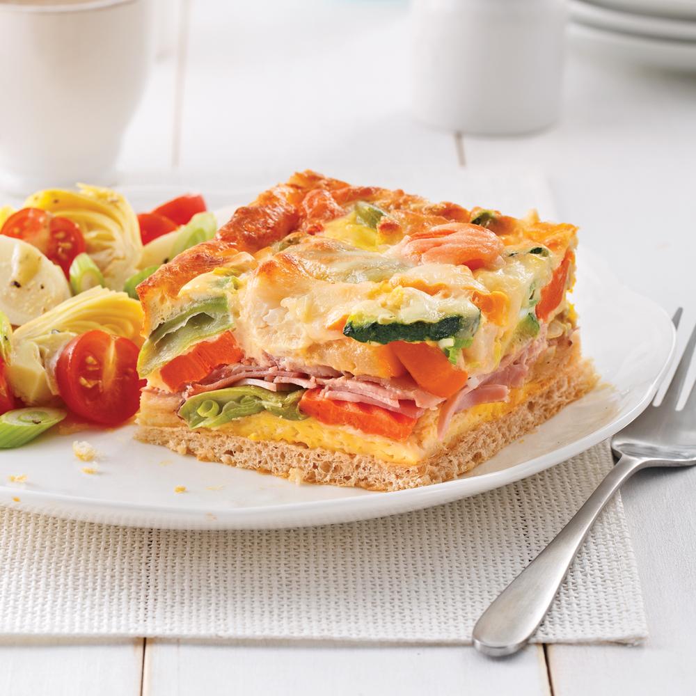Casserole déjeuner à l'italienne