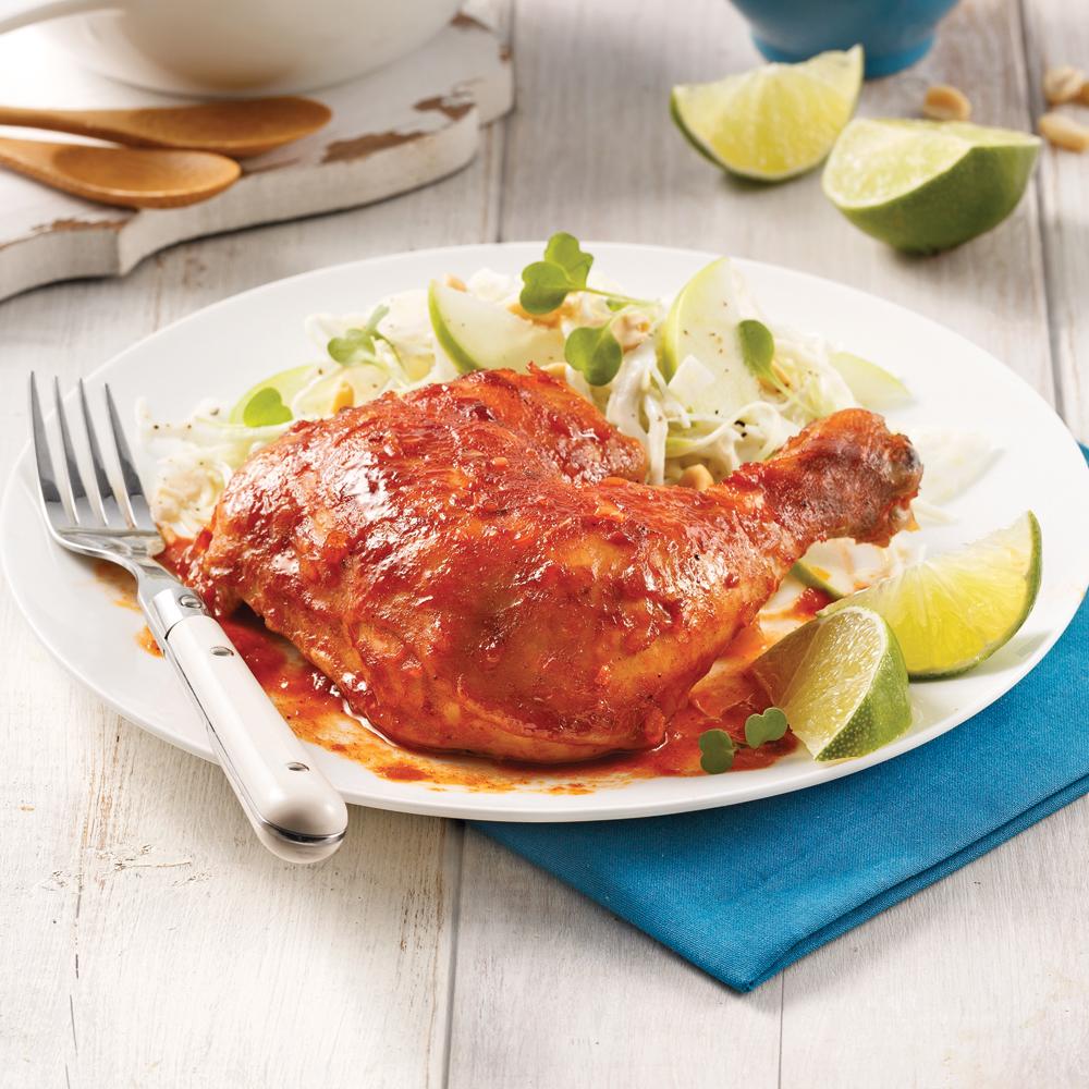 Cuisses de poulet au chili