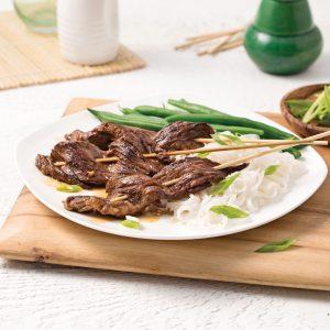 Brochettes de boeuf à la coréenne