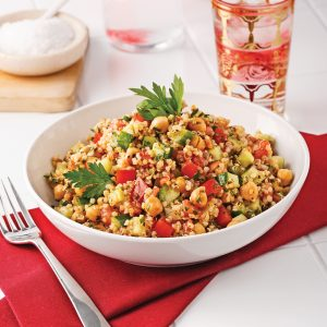 Taboulé au quinoa et pois chiches