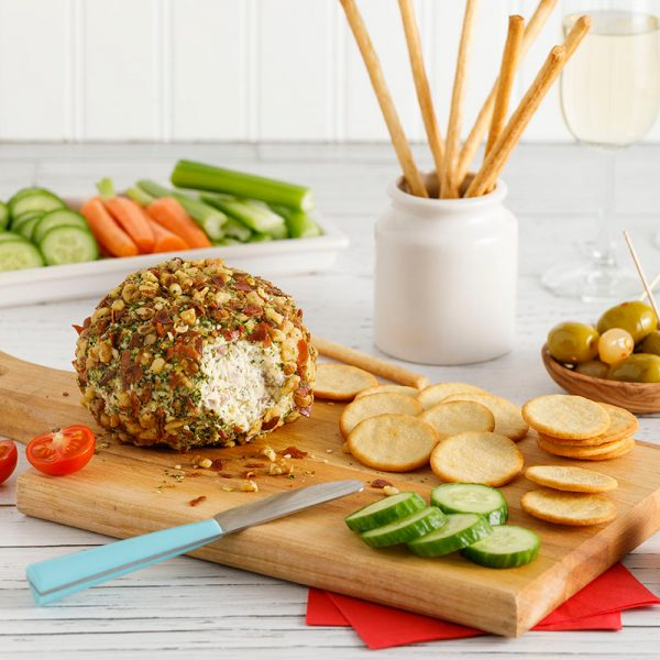 Boule au fromage, prosciutto et noix