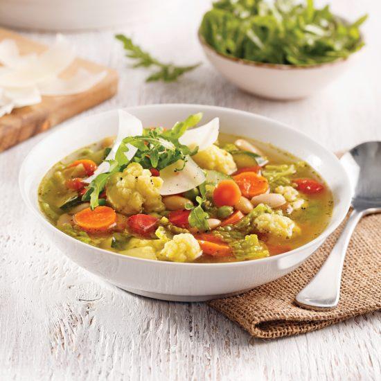 Soupe aux légumes à l'italienne