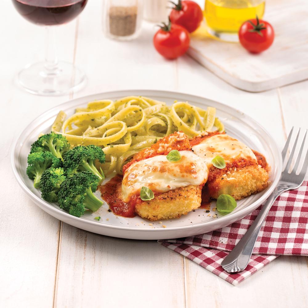 Tofu parmigiana express