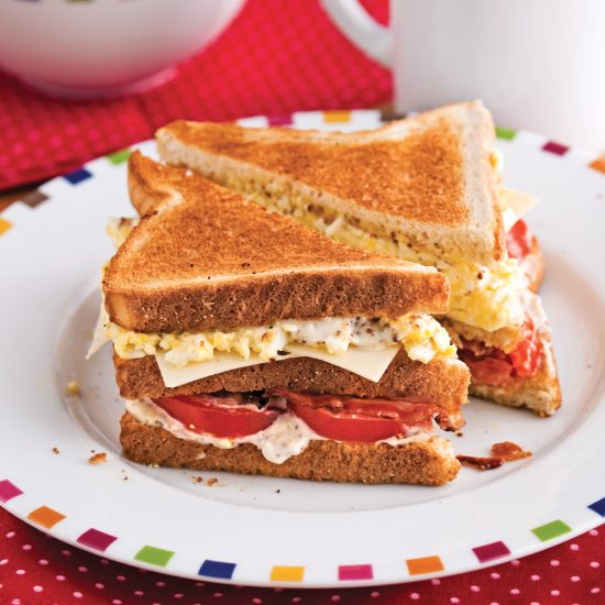 Club sandwich du matin