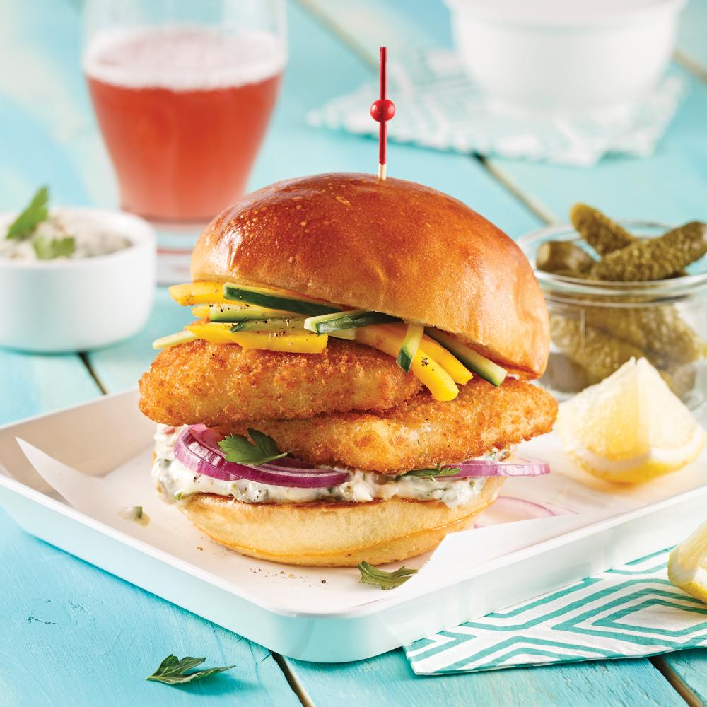 Burger de poisson