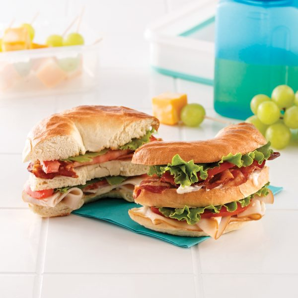 Bagel Club Sandwich