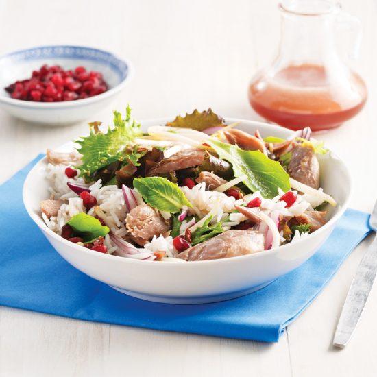 Salade asiatique au canard