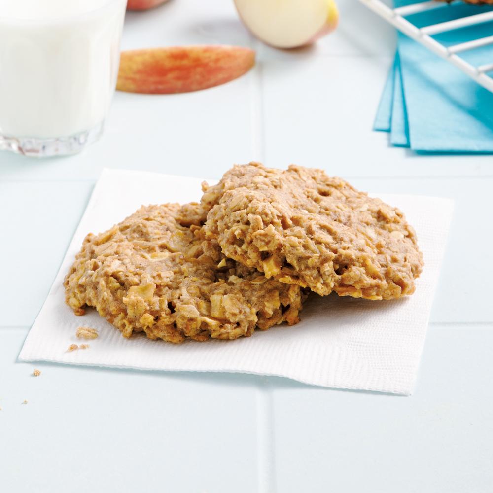 Biscuits à la croustade aux pommes