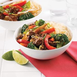 Chop suey au boeuf haché