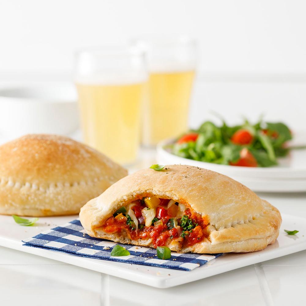 Vegetarian Pizza Pockets