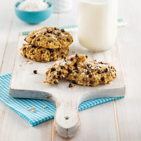 Biscuits au quinoa et noix de coco