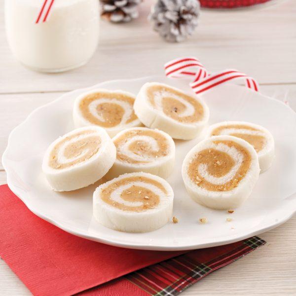 Bonbons aux patates au caramel et pacanes