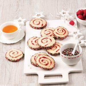 Biscuits spirales à la confiture