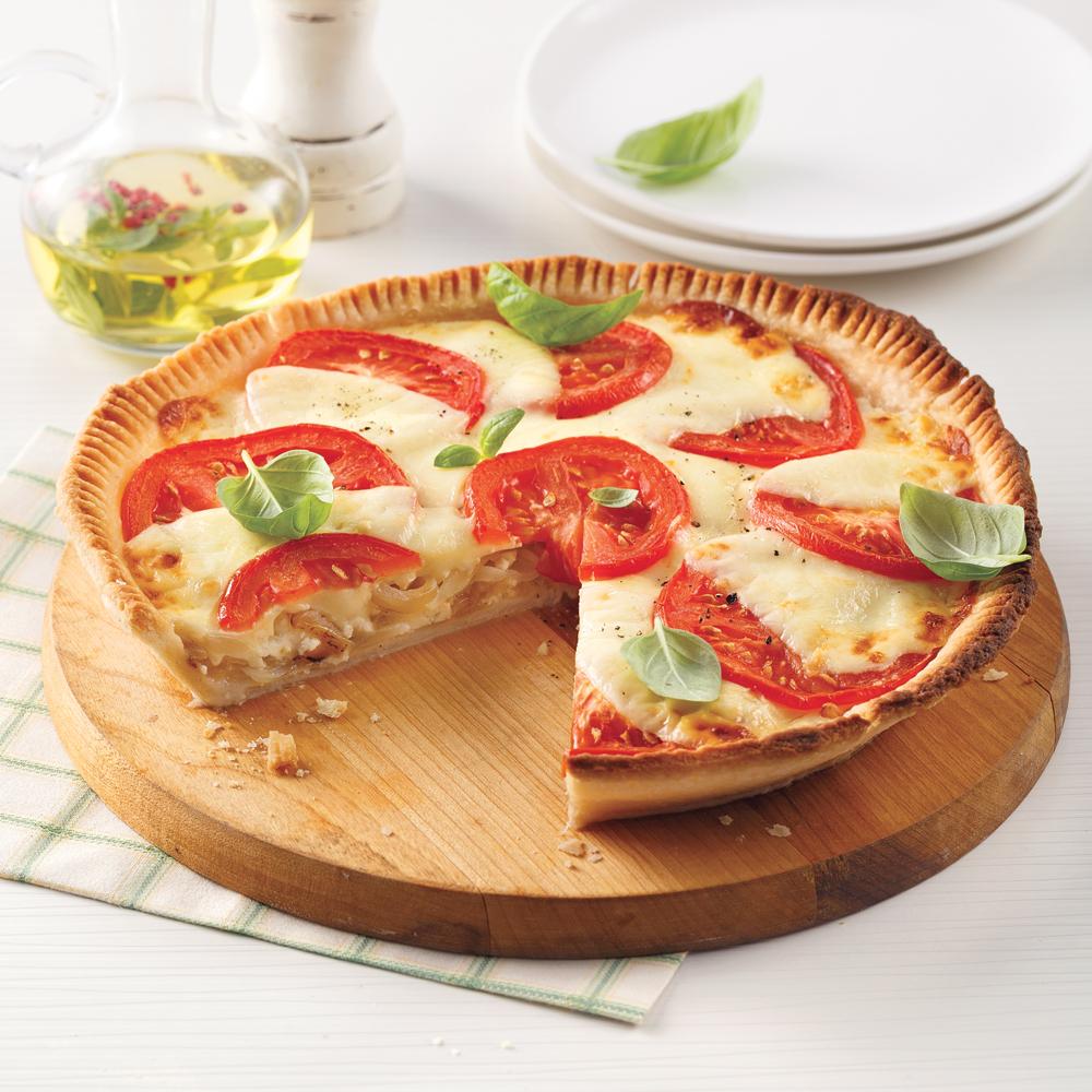 Tarte aux tomates et feta