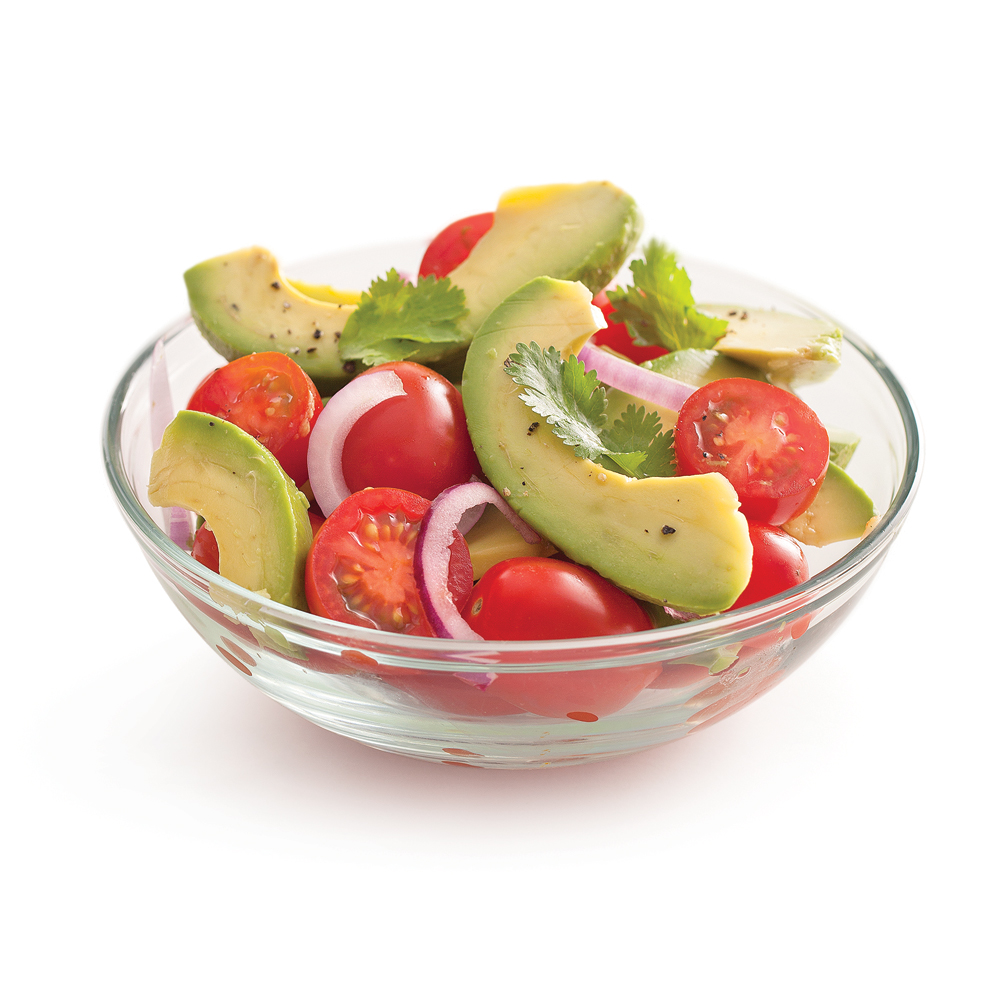 salade-d-avocat-et-tomates