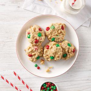 Biscuits au caramel et au chocolat